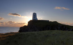Île de Llanddwyn Image libre de droits