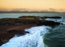 Île de Llanddwyn Image stock