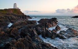 Île de Llanddwyn Images libres de droits