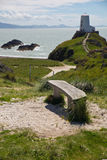 Île de Llanddwyn, Anglesey, Gwynedd, Pays de Galles du nord, R-U Photographie stock