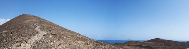 Île de Lobos, Fuerteventura, îles Canaries, Espagne Photos libres de droits