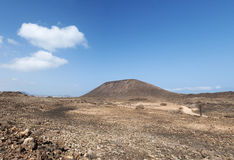 Île de Lobos, Fuerteventura, îles Canaries, Espagne Photographie stock libre de droits