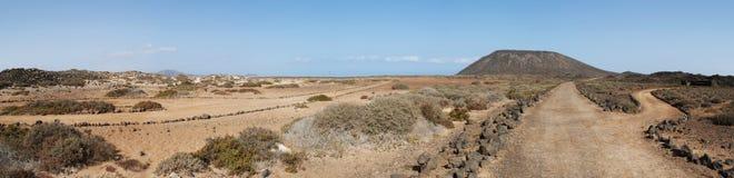Île de Lobos, Fuerteventura, îles Canaries, Espagne Photos stock