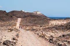 Île de Lobos, Fuerteventura, Îles Canaries, Espagne Photo libre de droits