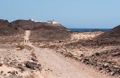 Île de Lobos, Fuerteventura, Îles Canaries, Espagne Photographie stock