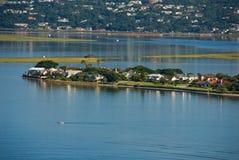 Île de loisirs Photos libres de droits