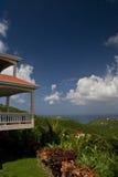 Île de luxe vivant sur Tortola BVI images libres de droits