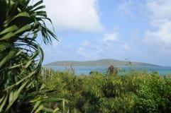 Île de mâle, croix de St Photographie stock