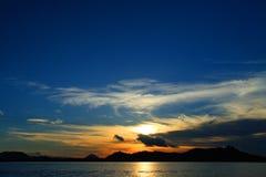 Île de Mabul Photos libres de droits