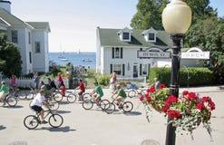 Île de Mackiinac aucune voitures permises Images stock