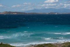 Île de Maddalena photo stock