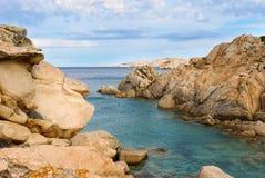 Île de Maddalena Image libre de droits