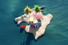 île de majorca illustration de vecteur