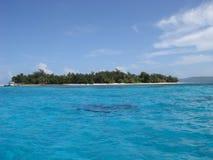 Île de Managaha dans Saipan Photo stock