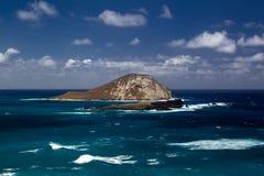 Île de Manana, Oahu Photos libres de droits