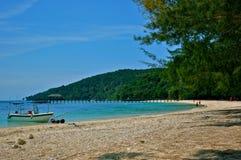 Île de Manukan Photo stock