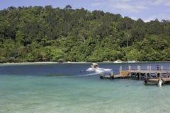 Île de Manukan Photographie stock