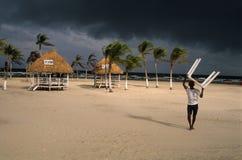 Île de MARAJO. Le Brésil Photographie stock