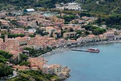 Île de Marciana Marina-Elba photos stock