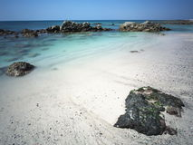 Île de Masirah Photographie stock