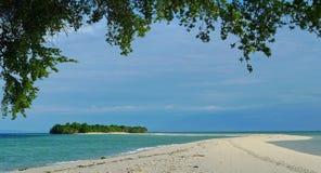Île de Mataking (Sabah, Bornéo, Malaisie, Asie) Image libre de droits