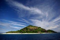Île de Matamanoa, Fiji photographie stock