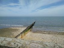 Île de mer de ressort de shanklin de wight Photo stock