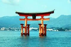 Île de Miyajima Image stock