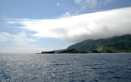 Île de Moneron Photographie stock