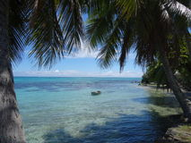 Île de Moorea Photo stock