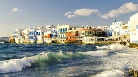 Île de Mykonos en Grèce Cyclades Images stock