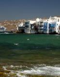Île de Mykonos, Grèce Images libres de droits