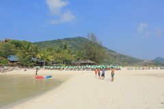 Île de Nangyuan Photos libres de droits