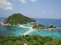 Île de NangYuan de KOH Photo stock