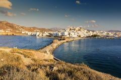 Île de Naxos en Grèce Cyclades Images libres de droits