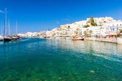 Île de Naxos en Grèce, Cyclades Photographie stock