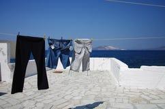 Île de Nisirros en Grèce images libres de droits