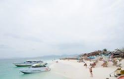 ÎLE DE NOK DE KHAI, THAÏLANDE Photographie stock libre de droits