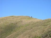Île de Pâques - volcan de milliers d'UCI de Rano Image libre de droits