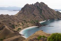 Île de Padar dans Labuan Bajo, Flores Indonésie images stock