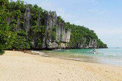 Île de Palawan, Philippines Image libre de droits