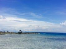 Île de paradis à Davao photo stock