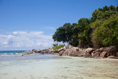 Île de paradis Photos libres de droits