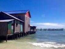 Île de paradis Photos stock