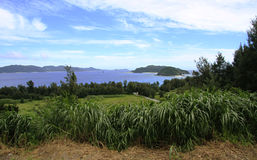 Île de paradis Photographie stock