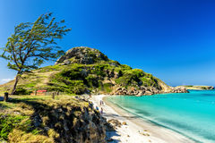 Île de paradis Image libre de droits