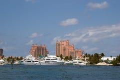 Île de paradis, Bahamas Photographie stock libre de droits