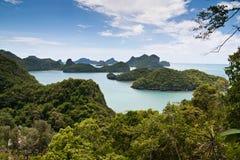Île de paradis d'ANG-Lanière, Thaïlande Photographie stock libre de droits