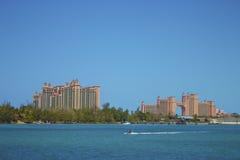 Île de paradis de l'Atlantide Image libre de droits