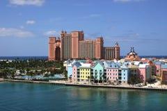 Île de paradis des Bahamas Photographie stock libre de droits